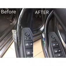 1 pc BMW F30 inner door handle replacement, Passenger Left, Black